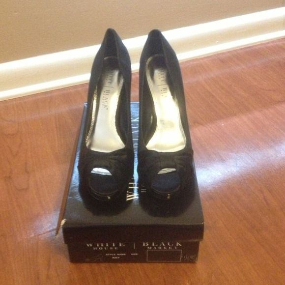 ab1245ed3a8a Brand new White House Black Market heels Ray heels - size 9.5. Didn ...