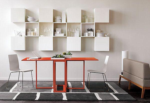 möbeldesign orange Fesselnde Küchentische Stühle weiß | Küche ...