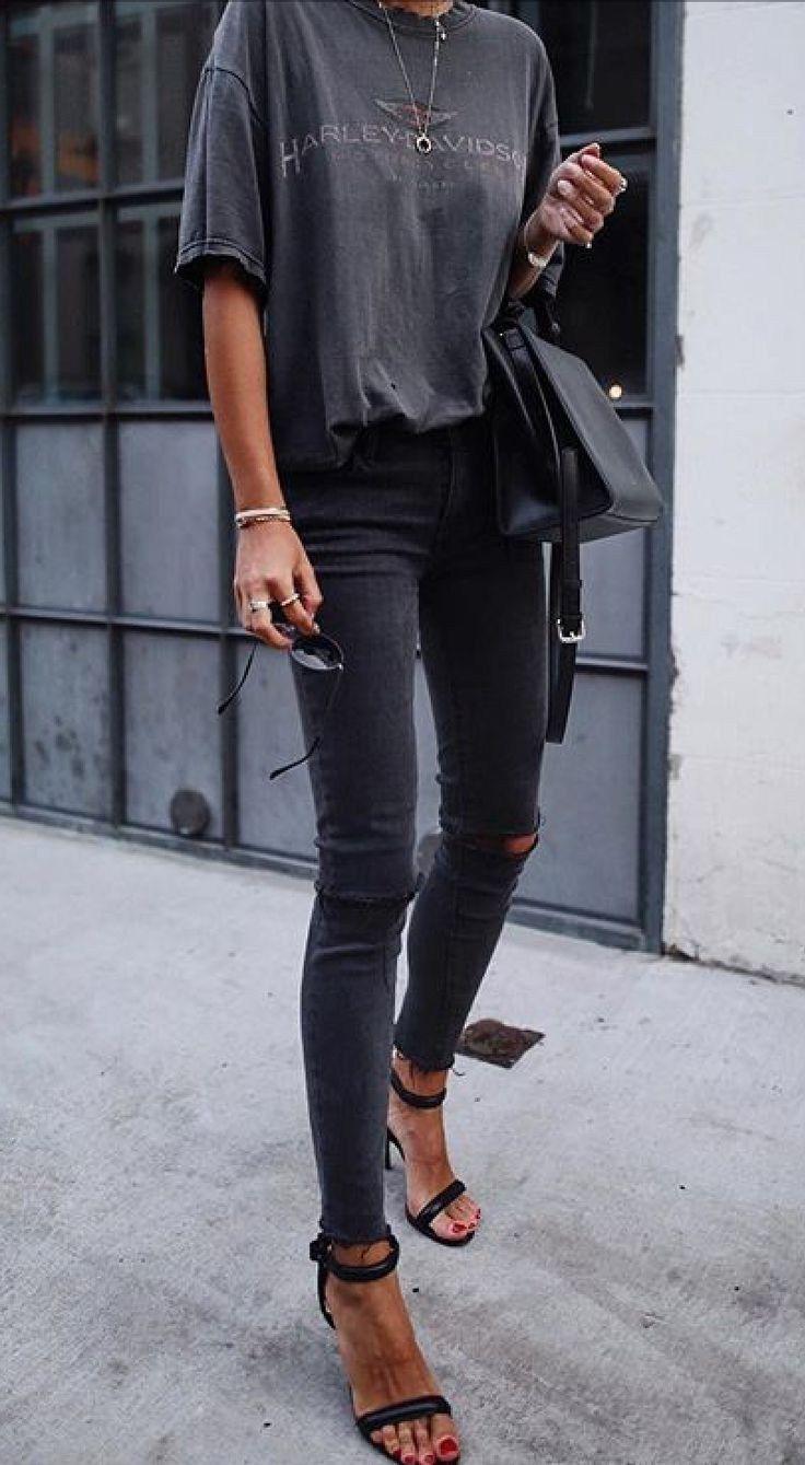 60 trendige Outfits, die du diesen Frühling tragen solltest 2019 48 »Welcomemyblog.com #trendyspringoutfits