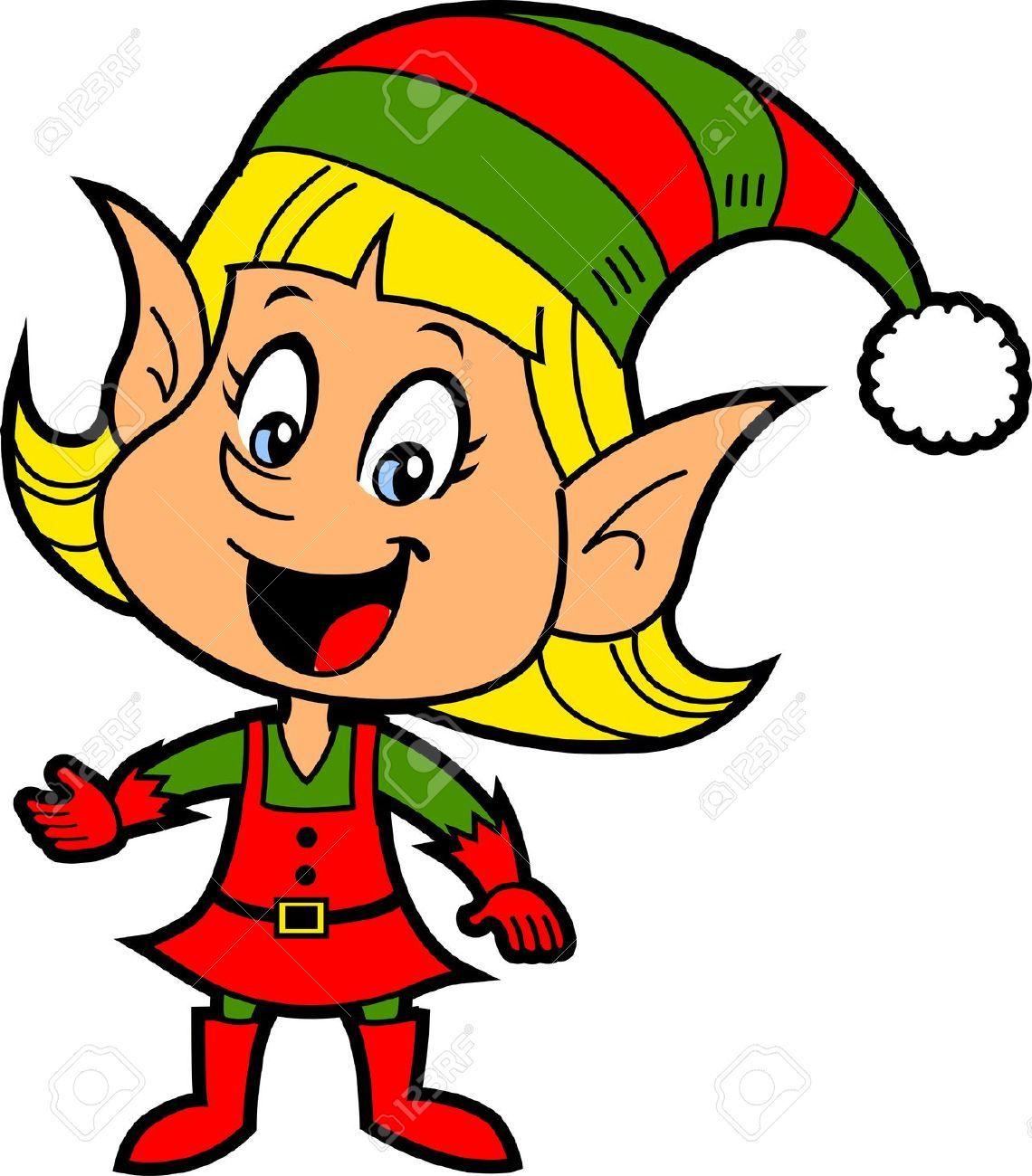 Santas elf stock photos images royalty free