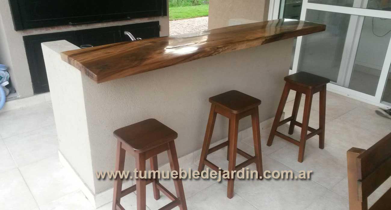 Muebles y Madera - Barras a Medida   PARRILLAS   Mesas de comedor ...