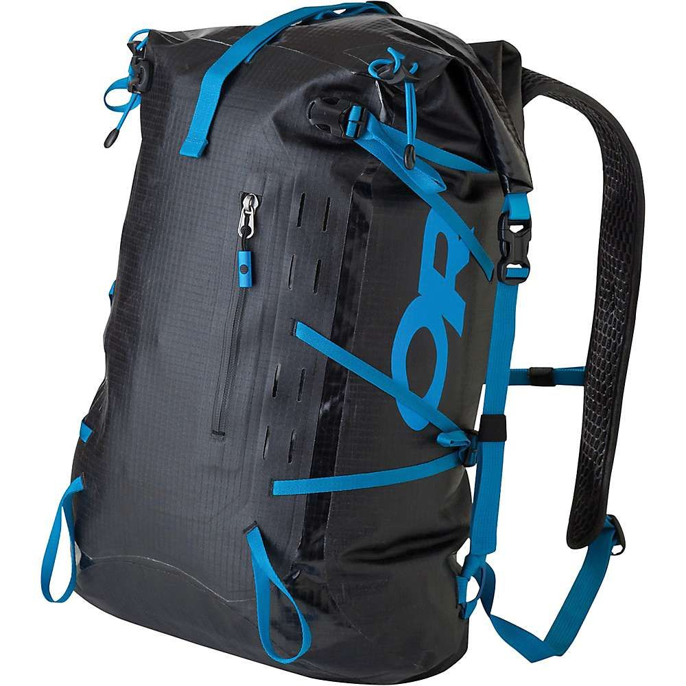 73ab029d6d1 Outdoor Research Dry Payload Pack Black Tahoe, Motorcycle Backpacks,  Outdoor Outfit, Outdoor Gear