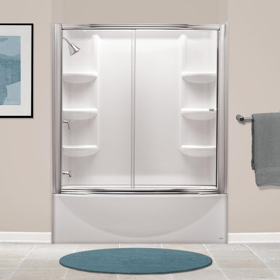 American Standard Saver Arctic Acrylic Oval In Rectangle Skirted Bathtub Common 30 In X 60 In Actual 17 In X 33 75 In X 60 In Bathtub Walls Bathtub Wall Surround Shower Remodel