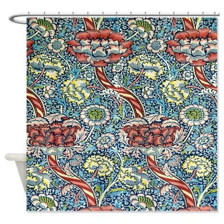 Wandle Design By William Morris Shower Curtain On Cafepress Com