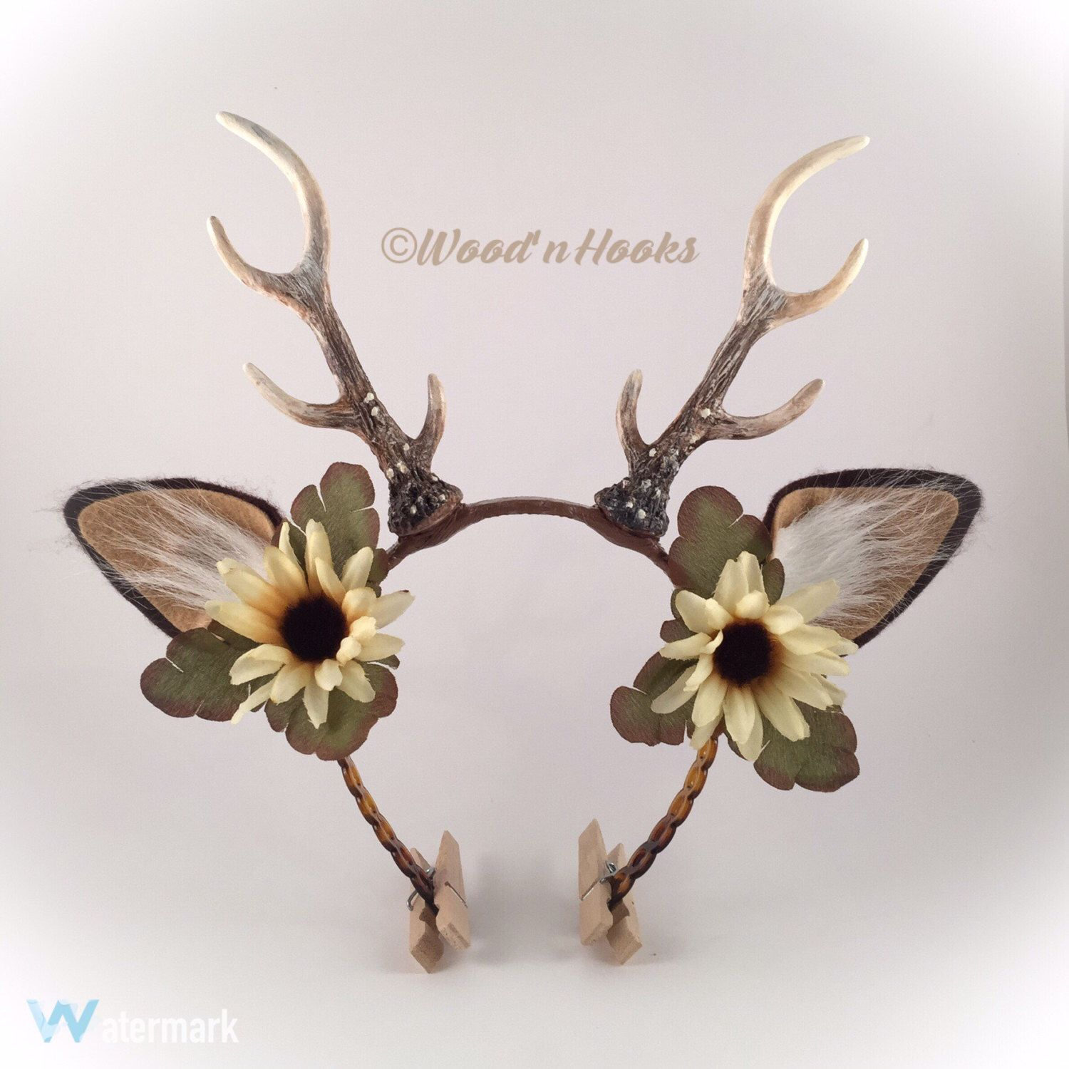 Comments about Spirit Halloween Deer Antlers: Bought these to wear for a deer costume. The antlers themselves are cute and realistic enough, but the strap that holds them to your head isn't sturdy enough to support the antlers so they kept falling forward/5(5).