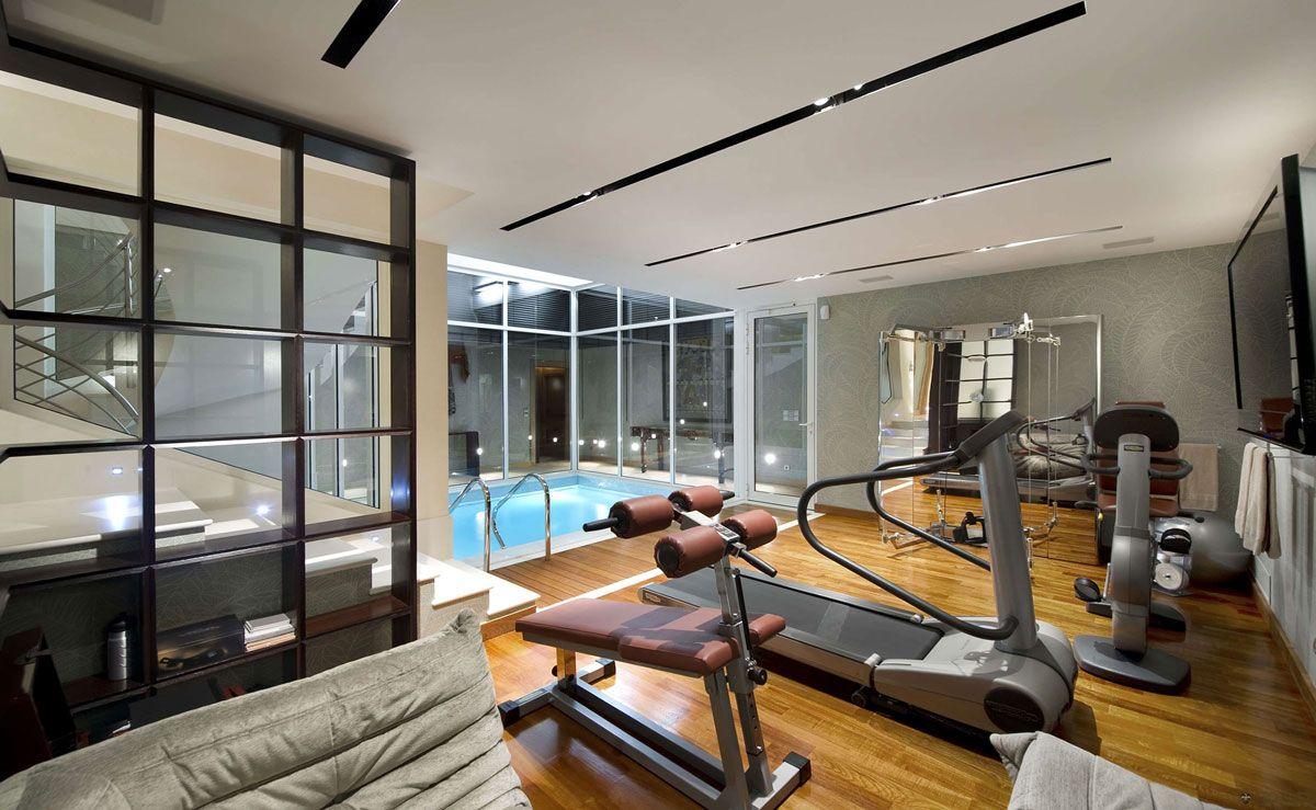 indoor gym pool. Indoor Pool, Gym, Villa On The Cap Ferrat, Côte D\u0027Azur, France. Love Gym Pool O