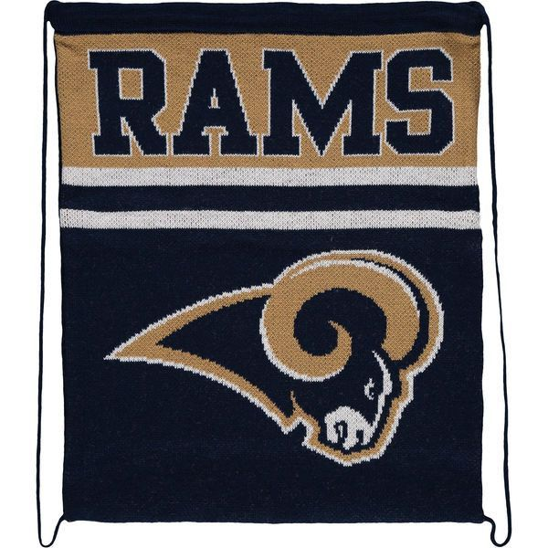 Los Angeles Rams Knit Drawstring Backpack