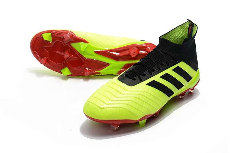 f9dee1f0311b7 Botas de fútbol adidas Predator 18.1 FG - Amarillo Negro
