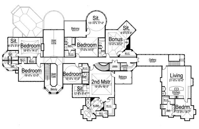 duggars family house plan level 2 | in my next house. | pinterest