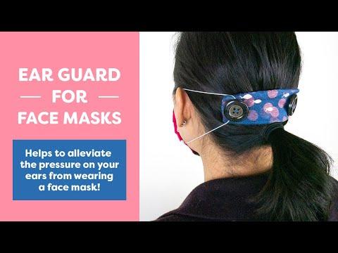 Photo of Ear Guard for Face Masks (Eng Espñ 한국어 )