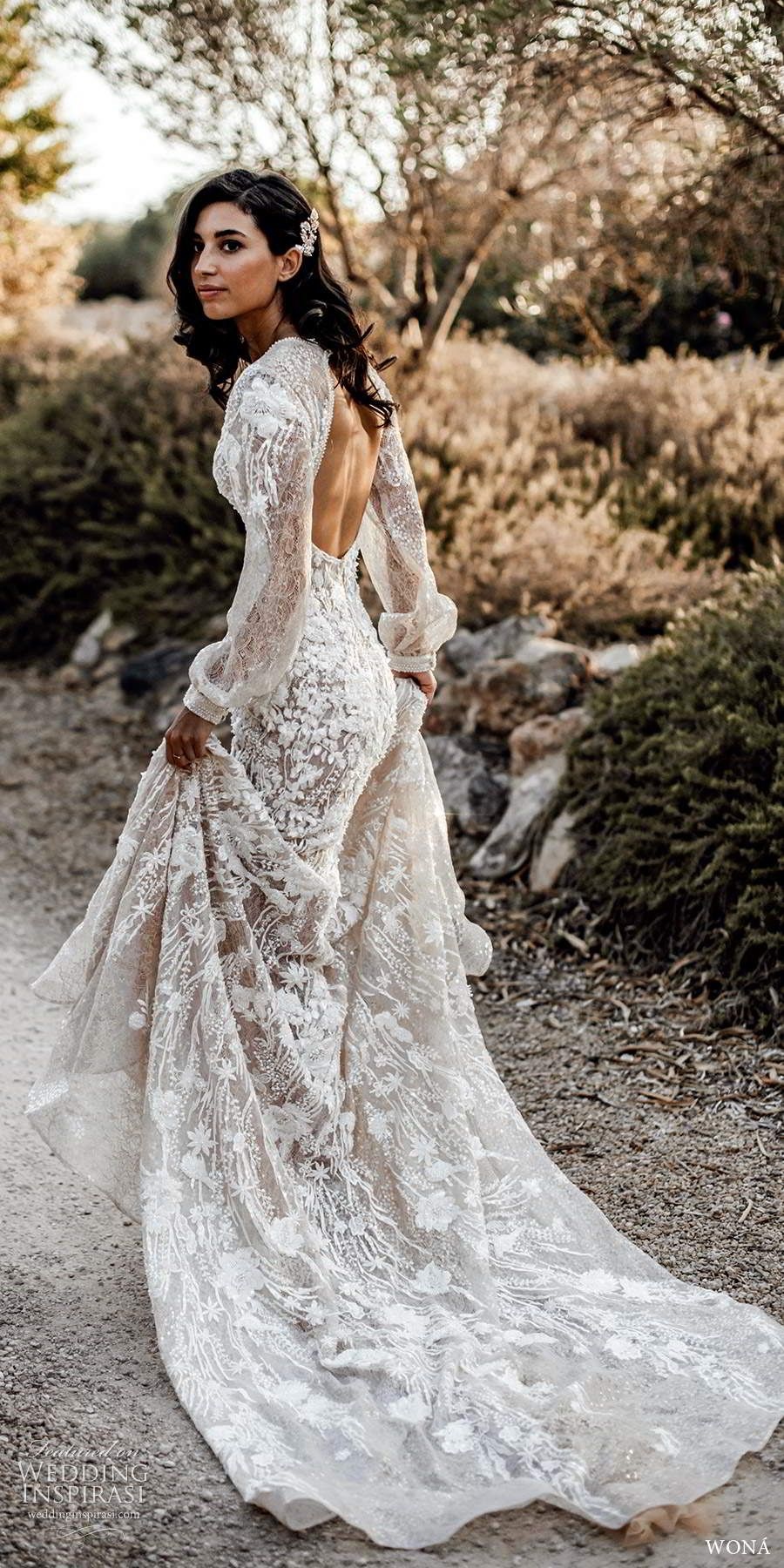 Wona Wedding Dresses 2020 Love Stories Vol 1 Bridal Collection Wedding Inspirasi Lace Wedding Dress With Sleeves Long Sleeve Wedding Dress Lace Wedding Dress Long Sleeve [ 1800 x 900 Pixel ]