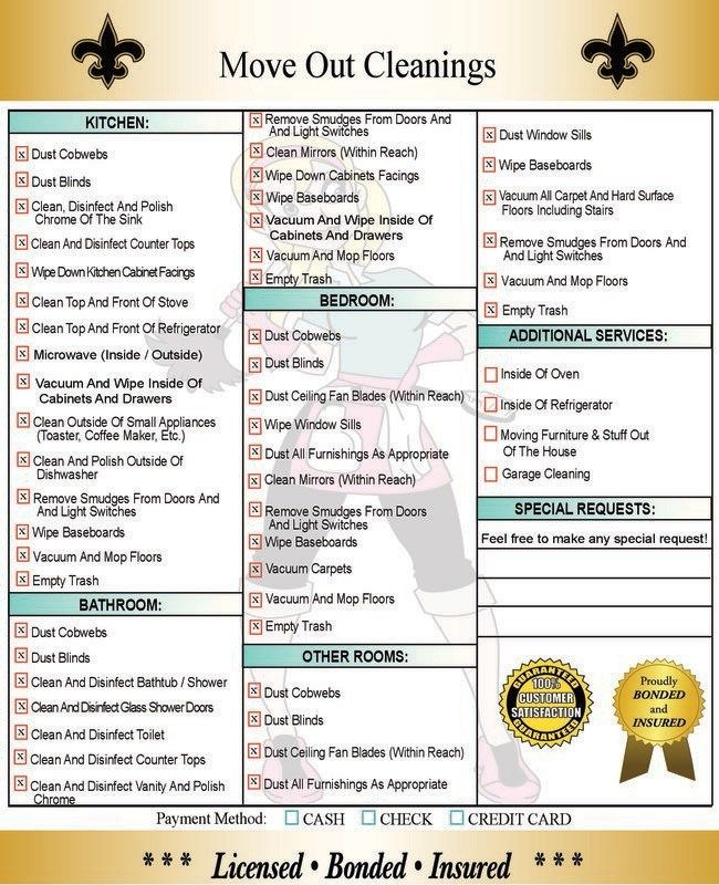 Diy And Crafts Diy And Crafts Move Out Cleaning Checklist What