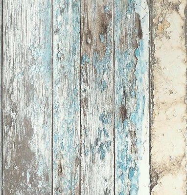 Details zu Vlies Tapete Antik Holz rustikal verwittert beige braun