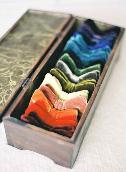 633353f2f5b8 Velvet bow tie box Groomsmen Ties, Style Me, Floral Design, Sharp Dressed  Man
