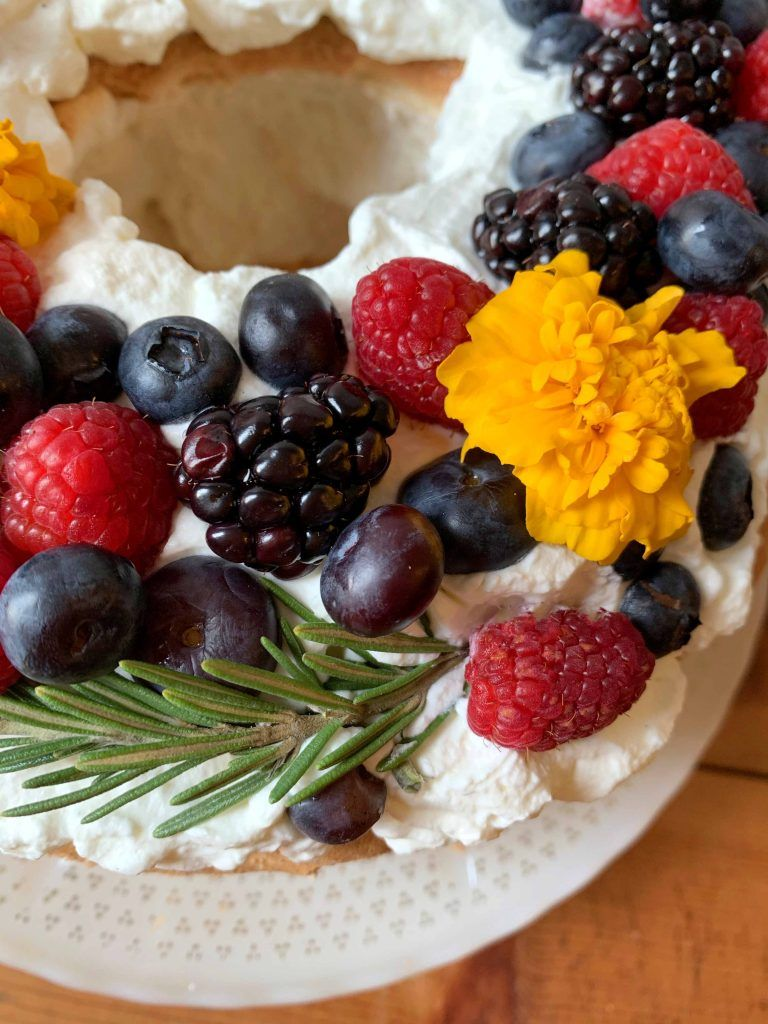 Low carb angel food cake resolution eats in 2020 angel