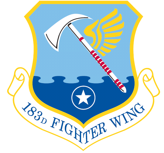 183rd Fighter Wing Wikipedia Military Memorabilia Military Patch Usaf