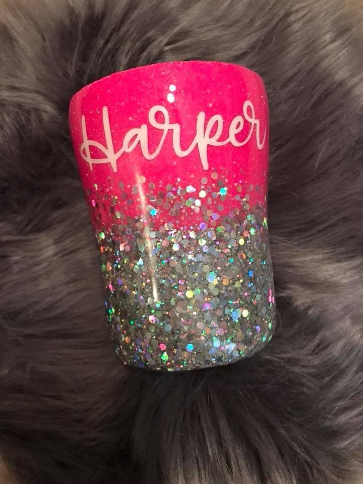 Love This With The Chunky Glitter Kids Tumbler Glitter