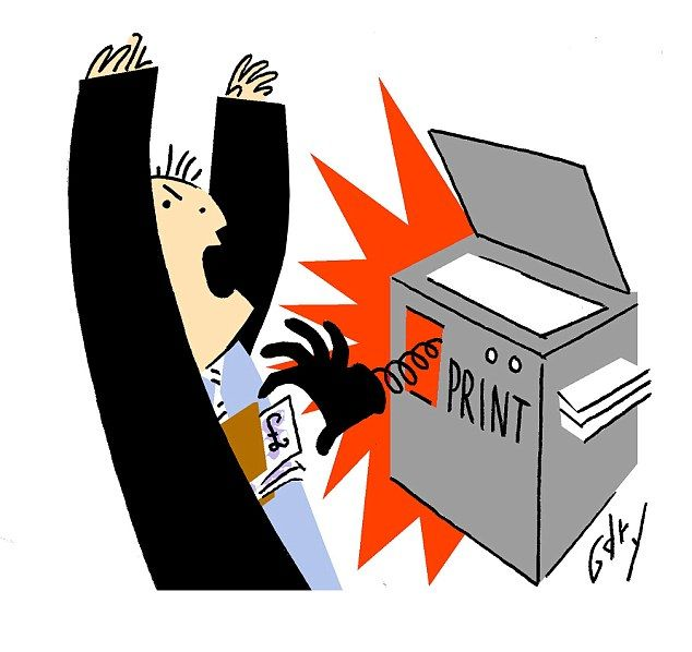 Has Big Brother taken over YOUR printer