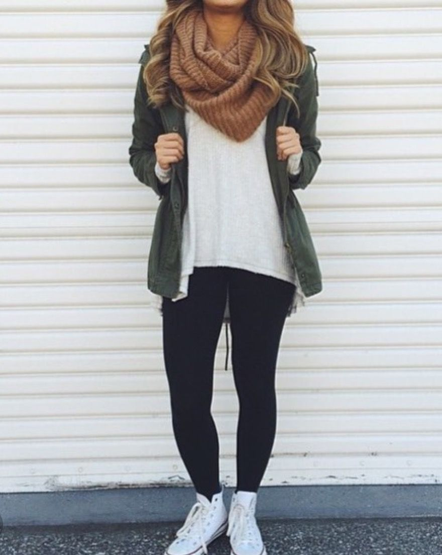 High School Outfits With Leggings : school, outfits, leggings, Nicole, Evans, Outfits, Leggings,, Clothes