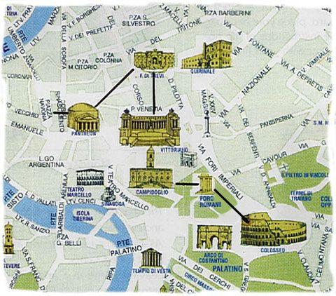rome walking tour map pdf