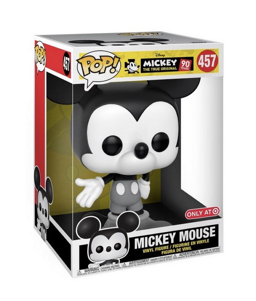 Funko Pop Disney Mickey Mouse 10 Inch 457 90th Edition Target Exclusive New Funko Pop Disney Mickey Mouse Mickey