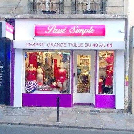 71e9a7e23c2089 Passé Simple - Boutique en ligne de lingerie grandes tailles ...