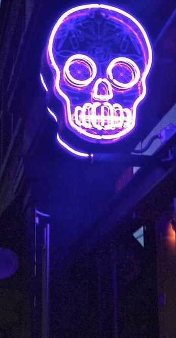 Skull Neon Light I Would LOVE To Have This