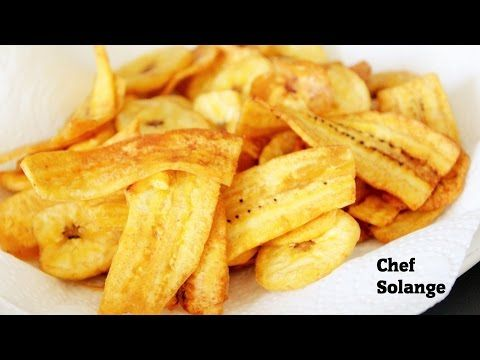 how to cook plantains chips