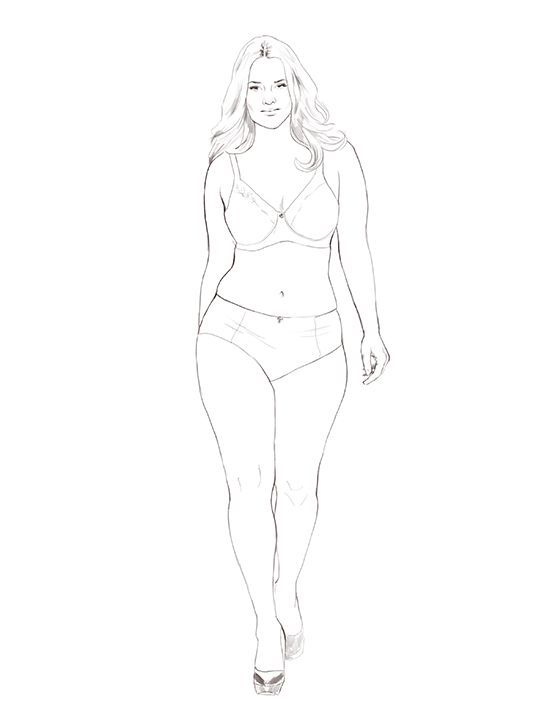 Photo of Drawing Real Bodies in Fashion Illustration