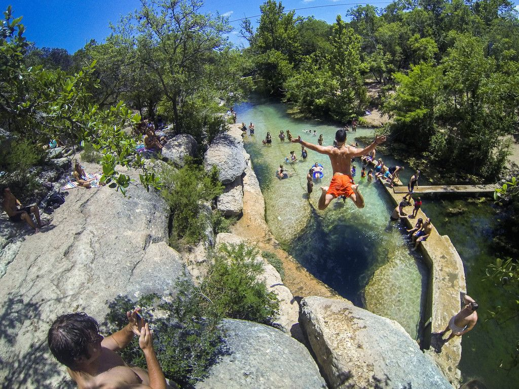 Who's ready for summer? Jacob's Well | Wimberley, Texas
