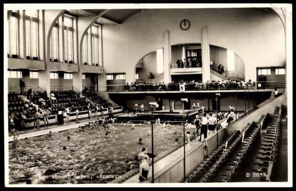 Bon Accord Or Up Town Baths Justice Mill Lane Vintage Aberdeen Pinterest Aberdeen