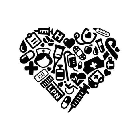 Svg Lpn Collage Heart Svg Dxf Nurse Svg Medical Lpn Etsy Nurse Nursing Cap Cricut