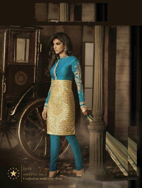 priyanka chopra designer wear suit.