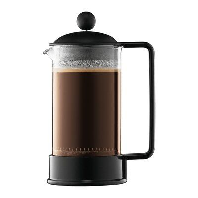 Bodum Bodum 4 Cup Brazil French Press Coffee Maker Color Black Size 51 Oz Coffee Tea Makers French Press French Press Coffee Maker