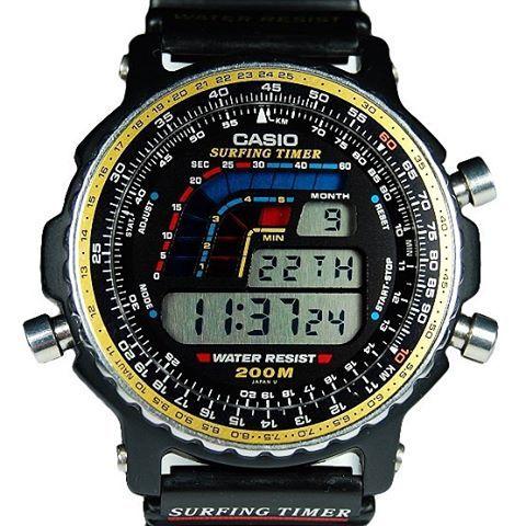 18660ecb1788 Casio Surfing Timer DW-403. 1991  casio  90swatch...