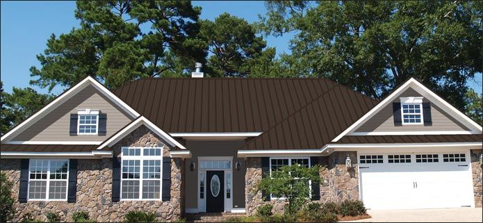 Burnished Slate Metal Roof Burnished Slate Pro Snap And