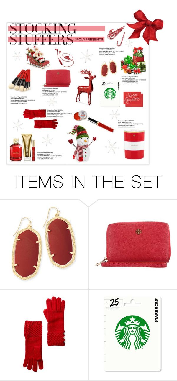 """""""#PolyPresents: Stocking Stuffers"""" by emeraldxlake05 ❤ liked on Polyvore featuring art, contestentry and polyPresents"""
