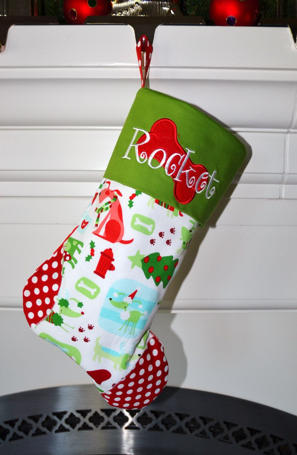 christmas stocking don t forget your dog choose from 15