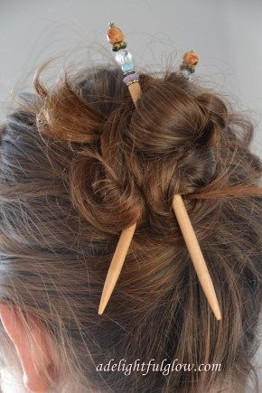 Lilla Rose hairsticks to throw your hair up.  Can purchase singles or in pairs.  www.lillarose.biz/twl