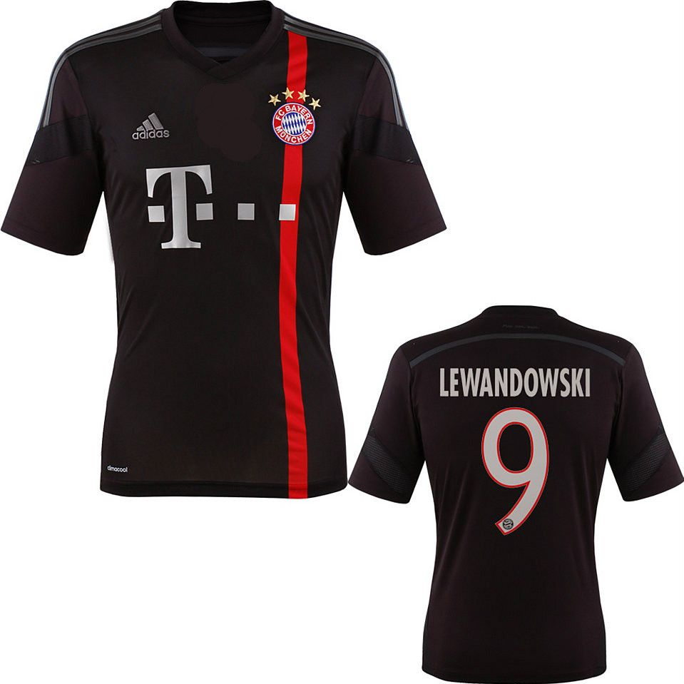 best website 23fd2 db430 Lewandowski Jersey Bayern Munich 2014 2015 | soccer | Bayern ...