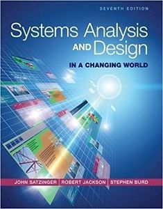 Systems Analysis And Design In A Changing World 7th Edition Test Bank Satzinger Jackson Burd Online Library Download Solution Manual And Test Bank World 7 Project Management Principles Test Bank