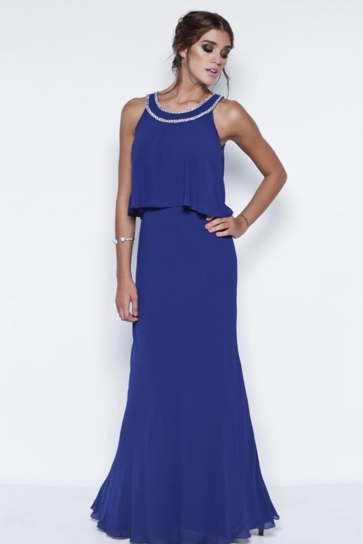 4613fb6ac Descubrí los vestidos más bellos en tono azul.  argentina  bodas   casamientos