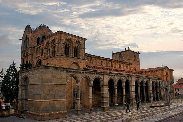 Basilica De San Vicente Avila España Spain Avila Natural Park