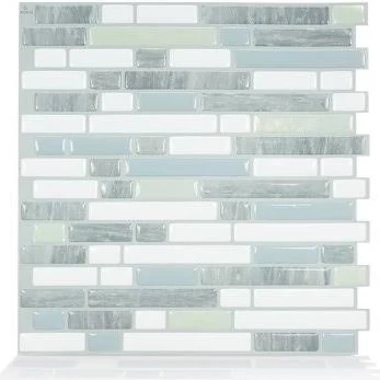 Peel And Stick Tile Backsplash Google Search Smart Tiles Stick Tile Backsplash Stick On Tiles
