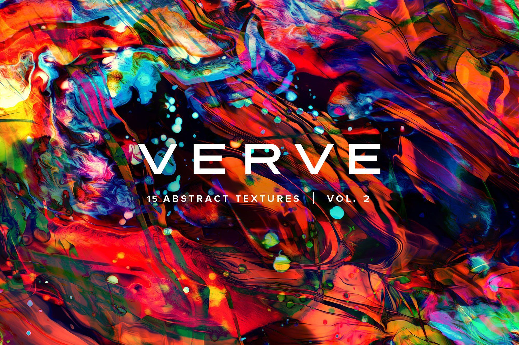 Verve Vol 2 15 Abstract Textures Photoshop Brush Set Abstract Texture