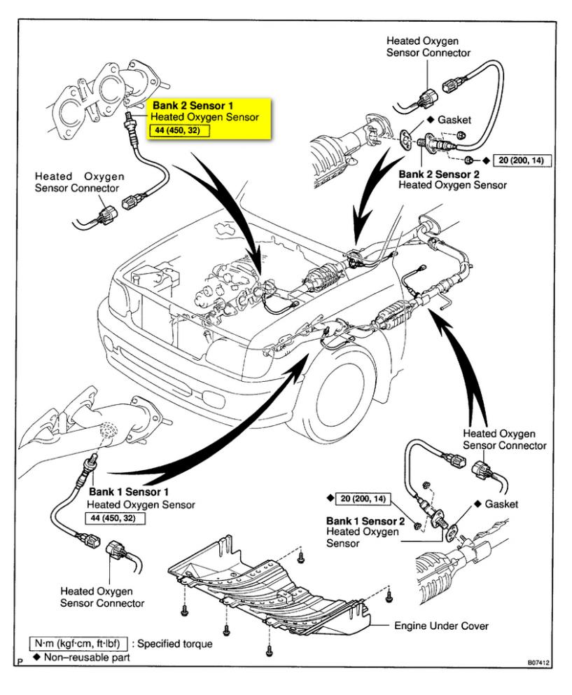4 Toyota Tundra V4 Engine Diagram