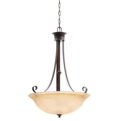 Hampton Bay Essex 3 Light Aged Black Pendant 14709 At The Home