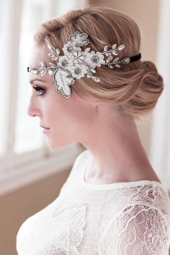 20 umwerfende Hochzeitsfrisuren mit Schleier und Haarteilen – #Haarfrisuren #Haa…