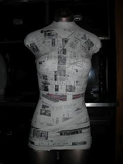 French Paper Mache Mannequin Tutorial   Crafty Spaces and Storage