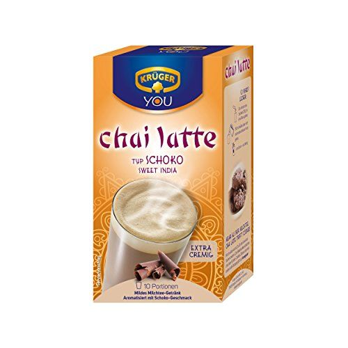 Kruger Chocolate Instant Chai Latte 10 Count * Be Sure To